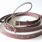 Handmade Leather Gye Net Peel Sling / Strap